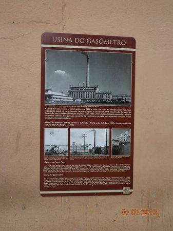 Centro Cultural Usina do Gasômetro: Fotos antiguas