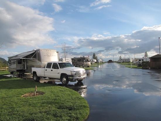 Jackson Rancheria RV Park : After a storm