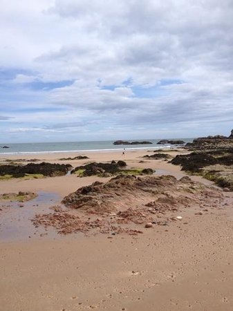 Kilmarnock Arms Hotel: The beach at Cruden Bay