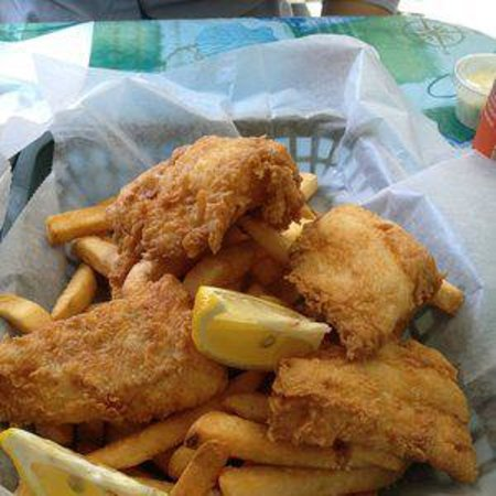 Fishermens Grill: fish and chip