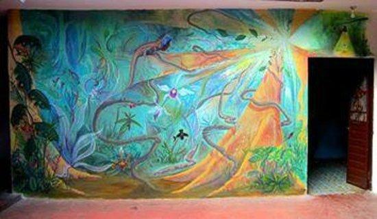 Posada Leon de Jovel : Nature mural