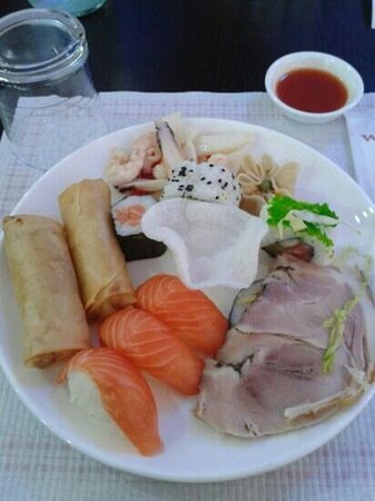 wok sushi Sarzana