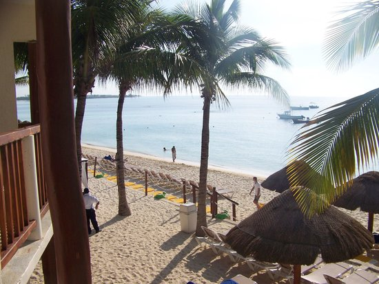 The Reef Coco Beach: view from balcony