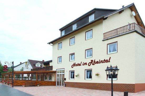 Hotel im Rheintal: Ansicht
