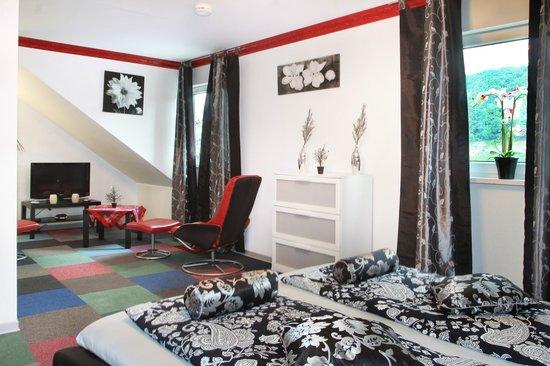 Hotel im Rheintal: Suite