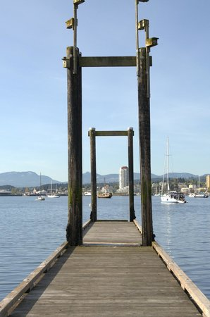 10 minute ferry ride from downtown Nanaimo
