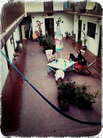 Posada Leon de Jovel: terrace