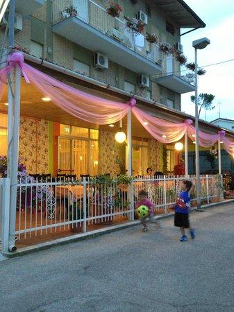 Hotel Simon: Notte rosa 2013