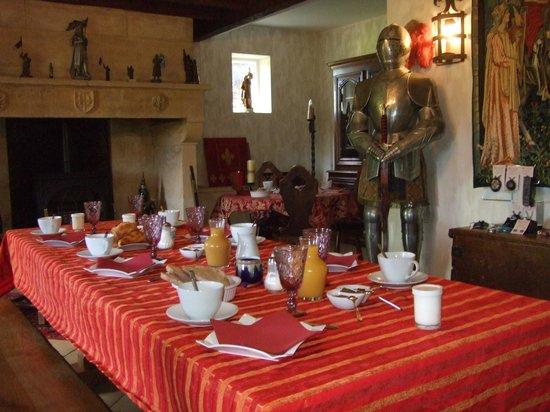 Le Lys de Castelnaud: Excelente desayuno.