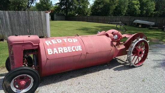 Red Top Barbecue: Ready for action