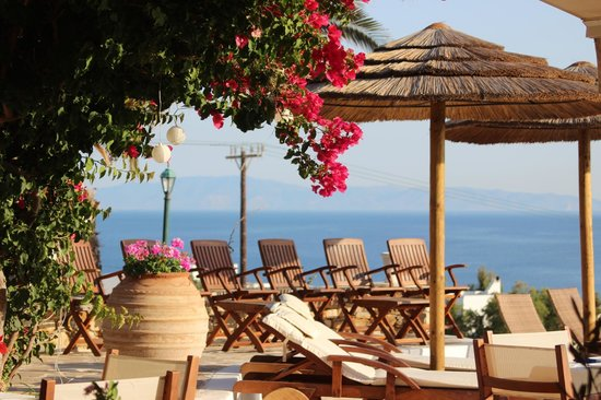 Kavos Boutique Hotel Naxos: At the pool