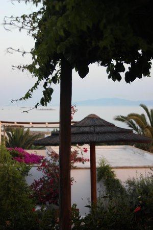 Kavos Boutique Hotel Naxos : View from rooftop deck