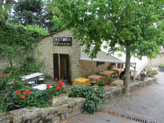 La Grotta della Rana : Outdoor seating and garden