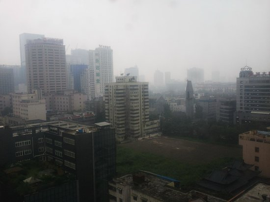 Holiday Inn Express Chengdu Gulou: View From 15th Floor