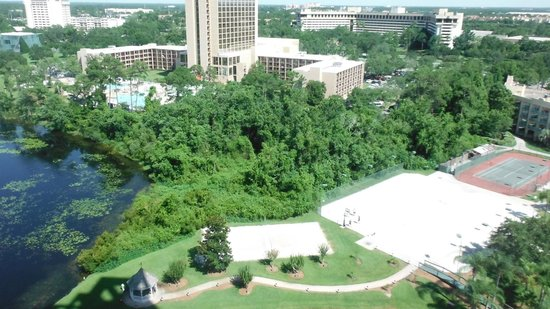 Hilton Orlando Buena Vista Palace Disney Springs: Our view