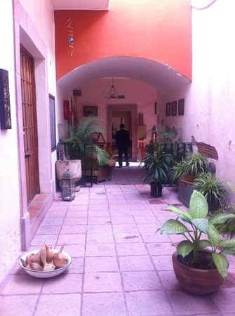 La Casa del Naranjo Hotel Boutique : Planta baja