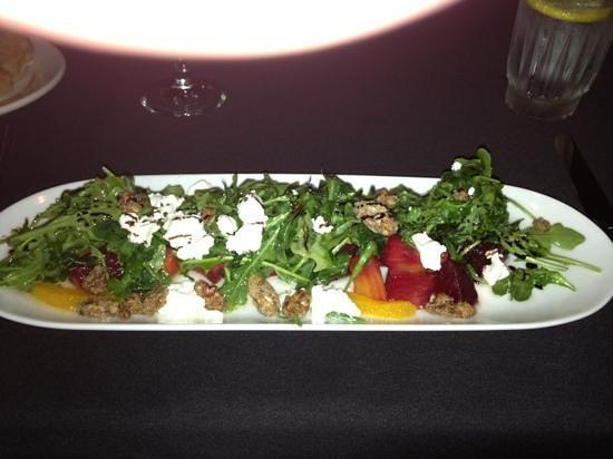 Sebastian's Hideout: beet salad
