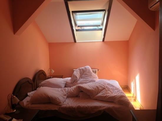 Premier Hotel Star : Спальня в люксе-мансарде