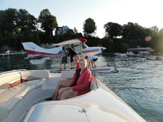 Torch Lake Bed & Breakfast: We moore Sea Planes