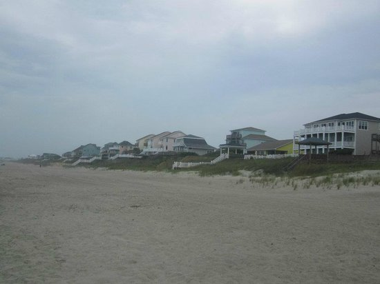 beach houses picture of emerald isle north carolina. Black Bedroom Furniture Sets. Home Design Ideas