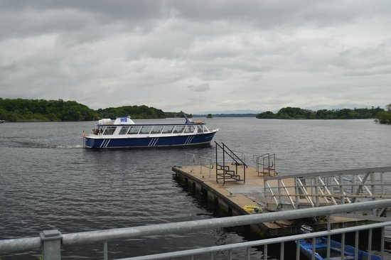 Innisfallen Island: Watching The Big Water Taxis Leave Ross Castle