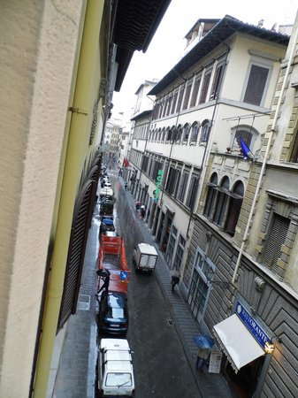 Hotel Aldobrandini: View from room.