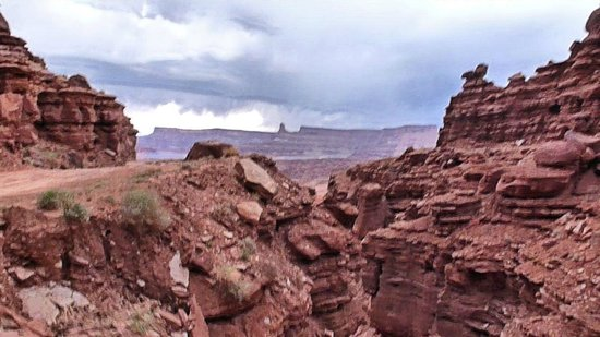 Coming down from Hurrah Pass - Picture of Base Camp
