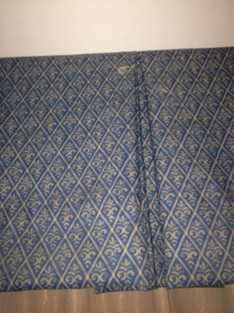 Hilton Charlotte University Place: stain on valance