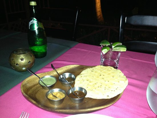 Restaurante Taj Mahal: food