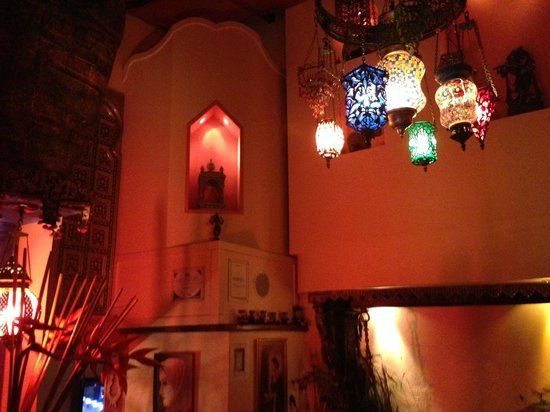 Restaurante Taj Mahal: decoration
