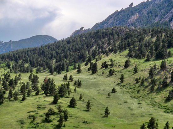 National Center for Atmospheric Research - NCAR: incredible site with trails to walk