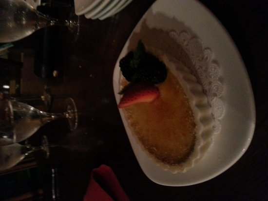 CB Grille: Creme brulee was another hit.