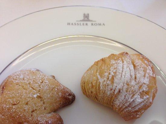 Il Palazzetto: Hassler breakfast pastries - sgogliatelle