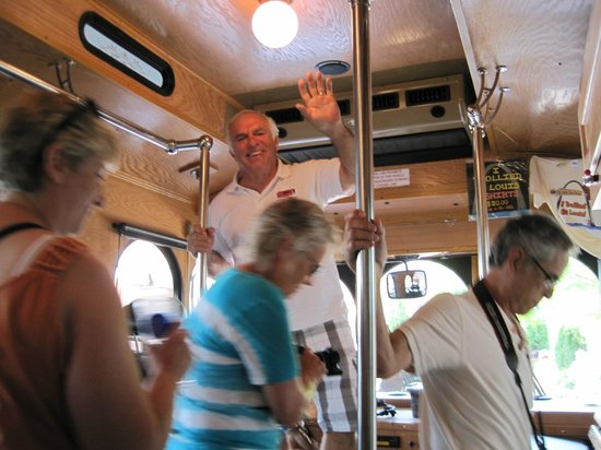 St. Louis Fun Trolley Tours: Tour Guide Berry