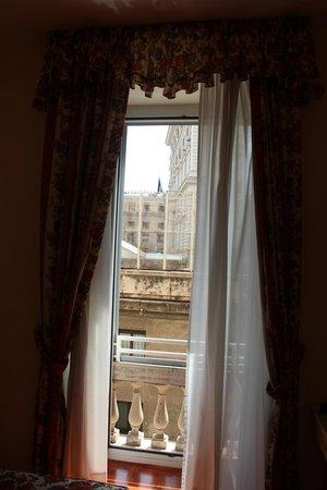 Hotel Italia: Vista do apartamento