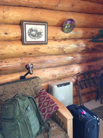 Hatcher Pass Bed & Breakfast: Couch and TV-internet included