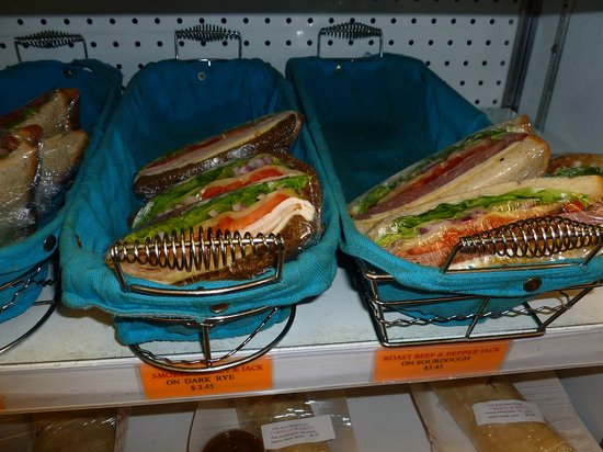 Little River Market & Deli: These sandwiches were pre-made