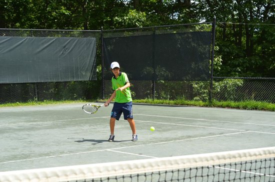 Wintergreen Resort: top level tennis