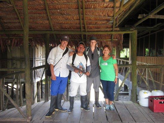Amazonia Expeditions' Tahuayo Lodge: Bilingual guide
