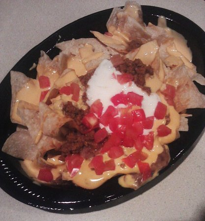 nachos bell grande minus green onions picture of taco bell