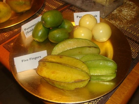 Native Abode: various fresh fruit