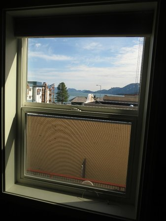 Hotel Seward: The view from the window of room 203
