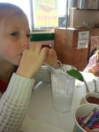 Taco Temple Morro Bay: Bottomless Soft drinks for kids
