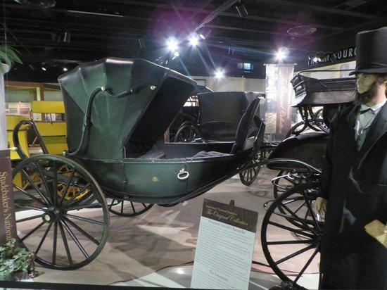 Studebaker National Museum: President Lincoln's Studebaker carriage