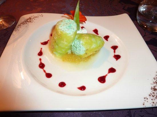 La Table Du Moulin : 'Cannelloni' dessert