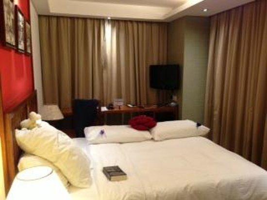โรงแรมบัตเตอร์ฟลาย ออน เวลลิงตัน บูติค: deluxe room