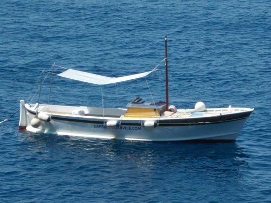 Capri Boat Service: il nostro gozzo