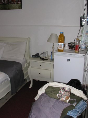 سنترال هوتل: room with fridge