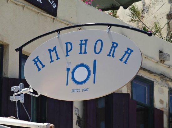 Amphora Hotel: Restaurant