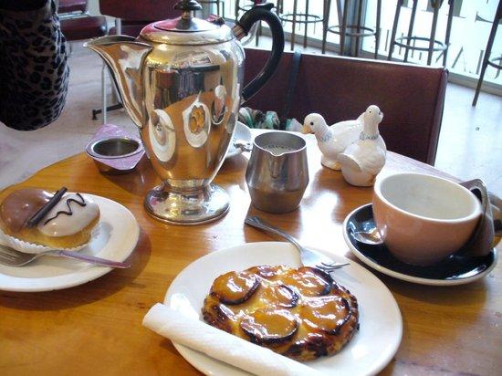 Morning tea at Petit Paris